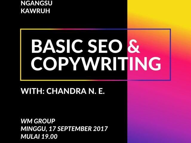 WM Ngangsu Kawruh #1: Belajar Copywriting dan SEO